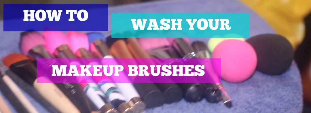 how to clean makeup brushes at home youtube