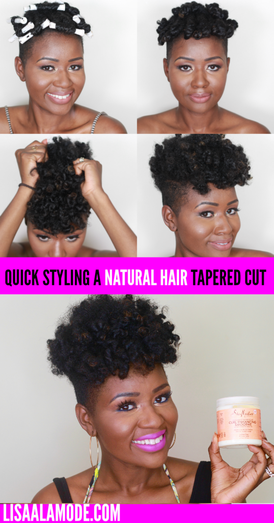 summer styles for natural hair style hair tapered cut 3618 | QUICK STYLE NATURAL HAIR TAPERED CUT pinterest