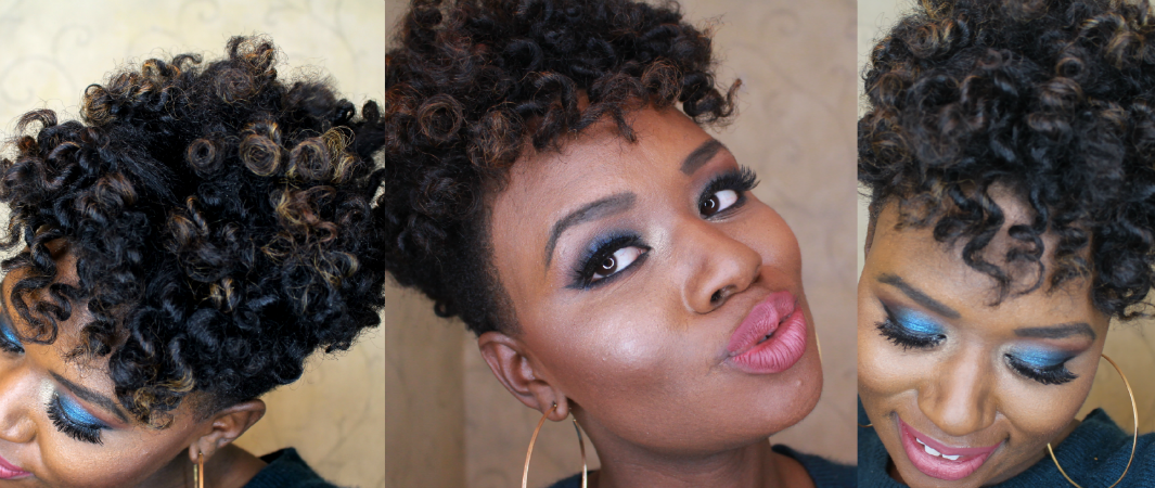 How To Bantu Knot Tutorial On A Tapered Cut Lisa A La Mode