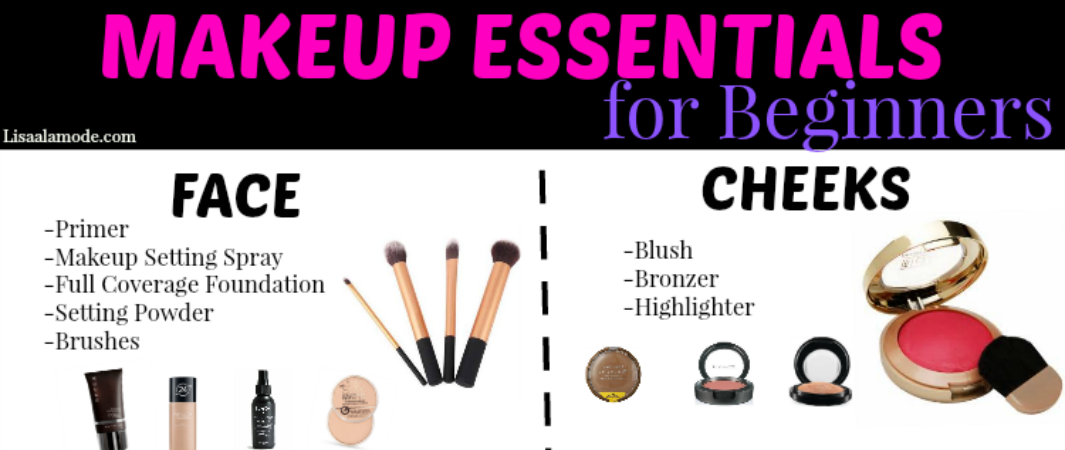 Makeup Essentials Beginners Guide Lisa Mode