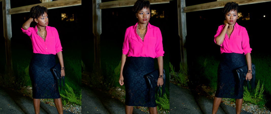 What To Wear With a Hot Pink Shirt